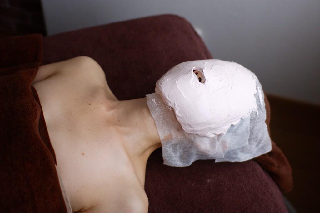 石膏モデリングマスク